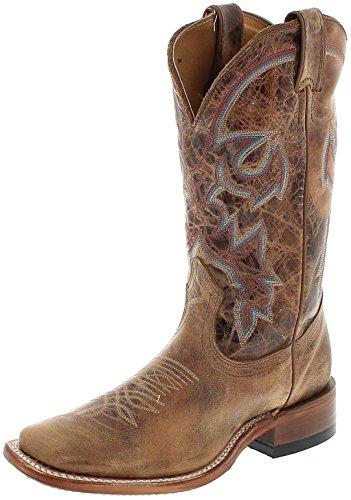 FB Fashion Boots Boulet 6220 C Taupe Lederstiefel Für Damen Westernreitstiefel Braun, Groesse:39 (8 US) (Kalbsleder Western-stiefel)