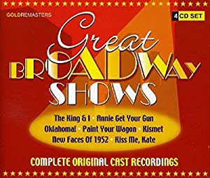 Ocr - Great Broadway Shows