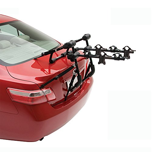 Hollywood Racks F6-3 Expedition Trunk 3 Bike Rack / Bicycle Carrier for Car SUV