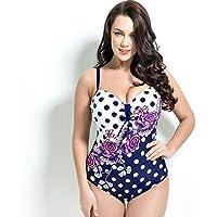 Diversión 1 * sexy triángulo sin espalda de una pieza traje de baño de mujer adecuado para mujeres deportes al aire libre natación, blanco