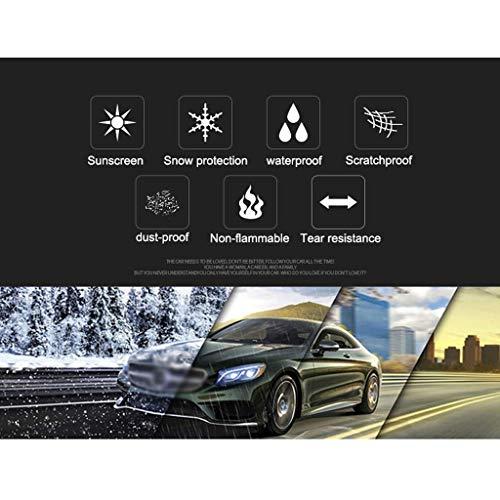 HH/&WW Nuova Versione Auto Impermeabile di Copertura Antipolvere Copertura dellautomobile Cassa Nera Indoor e Outdoor Car Cover Compatibile con Tutti i Modelli Ford Color : Black, Size : F-150