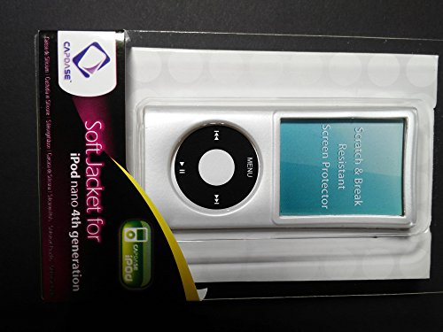 Capdase Soft Jacket White Weiss Schutzhülle für iPod Nano 4G 4th Generation Cover Hülle (4th Generation Cover Ipod)