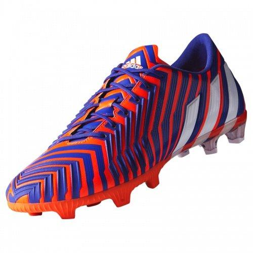 Adidas Predator Instinct Firm Ground, Chaussures de Football Homme Blanc