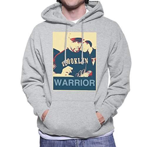 Mike Tyson Autographs Brooklyn Warrior Poster Style Men's Hooded Sweatshirt