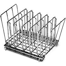 LIPAVI Sous Vide Rack L10 - Rejilla profesional para cocinar al vacío | Accesorios para cocedor de acero inoxidable 316L | plegable y ajustable 19,8 x 16,3 x 16,7 cm | adaptable para baño de agua LIPAVI C10