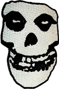 The Misfits - Crimson Ghost Skull - Embroidered Iron or Sew On Patch / Badge by Application TOY (English Manual)