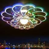 Deckenleuchte, LED-Kristall-Deckenlampen Pendelleuchte für Flur, Study Room / Office, Esszimmer, Schlafzimmer, Wohnzimmer