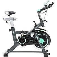 Cecotec Bicicleta de Spinning Extreme20 Uso Profesional. Pulsómetro. Pantalla LCD, Resistencia Variable.