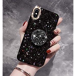Homikon Sternenhimmel Bling Shinning Glänzend Glitzer TPU Silikon Kompatibel mitiPhone XS Max