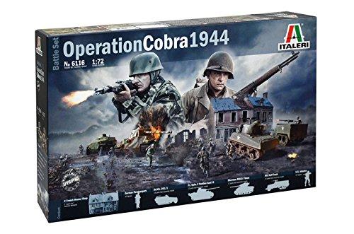 Operation Cobra 1944 Battle Set 1:72 Model Kit Italeri 6116