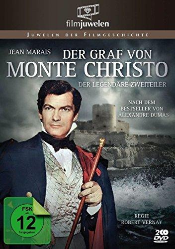 Bild von Der Graf von Monte Christo (1954) - Filmjuwelen [2 DVDs]