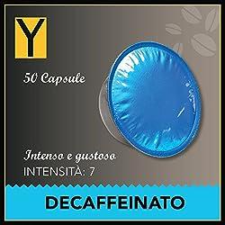 50 CAPSULE LAVAZZA* A MODO MIO* compatibili - DECAFFEINATO