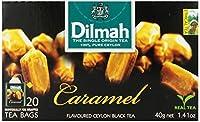 Dilmah Fun Teas, Caramel, 1.41 -Ounce Boxes (Pack of 6)