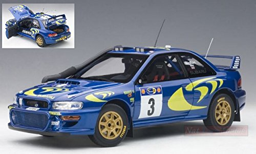 AUTOART AA89792 SUBARU IMPREZA WRC N.3 SAFARI RALLY 1997 MC RAE-GRIST 1:18