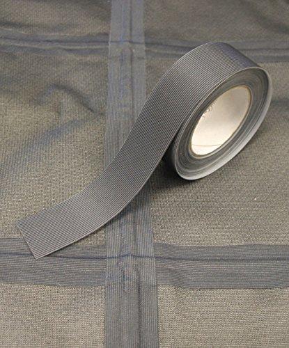 Nahtabdichtungsband T-2000X - Heißschmelzkleber 3-Schicht Wasserdicht - 5 Meter - gelten mit Bügeleisen (Dunkelgrau, 22 mm Breite) (Farbkarte Siehe)
