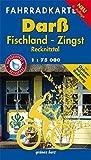 Fahrradkarte Darß, Fischland, Zingst: Mit Fischland, Zingst & Recknitztal. Mit Ostseeküsten-Radweg. Wasser- und reißfest. (Fahrradkarten)