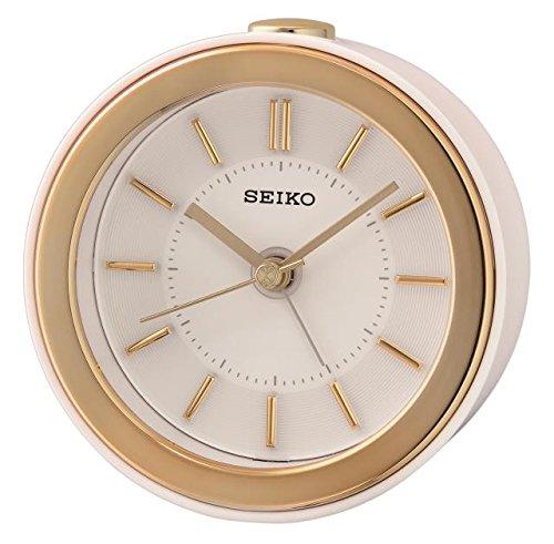 Seiko QHE156W - Reloj Despertador con luz LED 10
