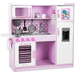 Melissa & Doug - Cocina de juguete, Chef's Kitchen - Pink (14002)