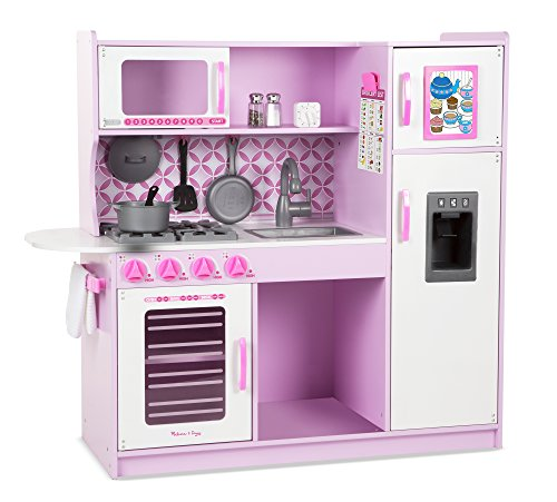 Melissa & Doug Cupcake Chef's Kitchen-Pink, Color Rosa, Blanco (14002)