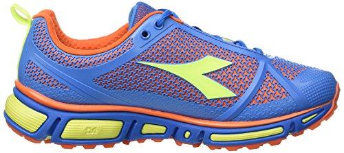 Diadora Herren Trail Trek Wettkampfschuhe Multicolore (C3189 Azzurro/Arancio)