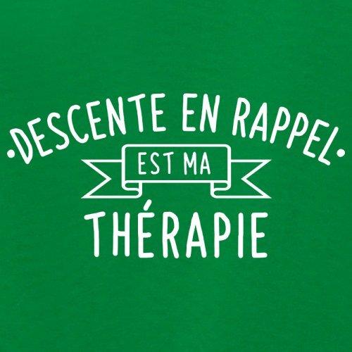 La descente en rappel est ma thérapie - Femme T-Shirt - 14 couleur Vert