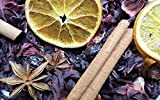 Seasonal Autumn Winter Pot Pourri   all natural seasonal blend creates a beautiful winter festive style in any room   warming & comforting spice citrus fragrance   infused with pure essential oils of Sweet Orange & Cinnamon   envelopes the room in a festive autumn winter spice fragrance   Festively fragrant - creates a festive, cosy, welcoming atmosphere.