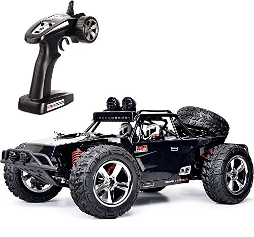 TOZO RC Car, C5032 High Speed 32MPH 4x4 Schnelle Rennwagen 1:12 RC Autos Skala RTR Racing 4WD Elektrische Power Buggy w / 2.4g Radio Fernbedienung Off Road lkw Powersport (Schwarz)*