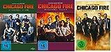 Chicago Fire - Staffel 4+5+6 im Set - Deutsche Originalware [18 DVDs]
