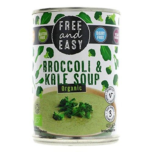 Free & Easy | Brokkoli und Grünkohl Suppe-Org | 2x 6x 400g (UK)