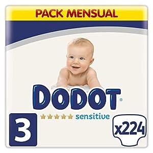 Dodot Pañales Bebé Sensitive Talla