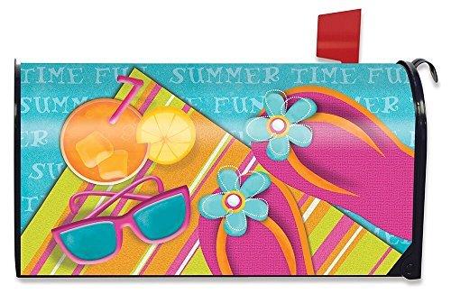 Briarwood Lane piscine fête d'été Grande boîte aux lettres Coque surdimensionné