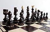 Master of Chess Indian 54cm / 21in Luxus Holz Schachspiel, schöne handgefertigte Schachbrett und Schachfiguren