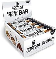 Bodylab Eat Clean Bar 12 x 65g | Suikerarme eiwitreep met waardevolle vezels | 20g eiwit per reep | Lekkere ei