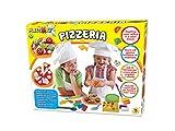 TEOREMA Satz 63923–plastiart die Pizzeria, mit 8Farben Traumprinzenknete
