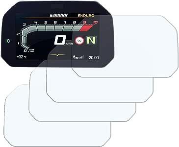F750GS 2018 2 x Ultra Trasparente /& 2 x Anti Riflesso Connectivity Tachimetro Proteggi Schermor