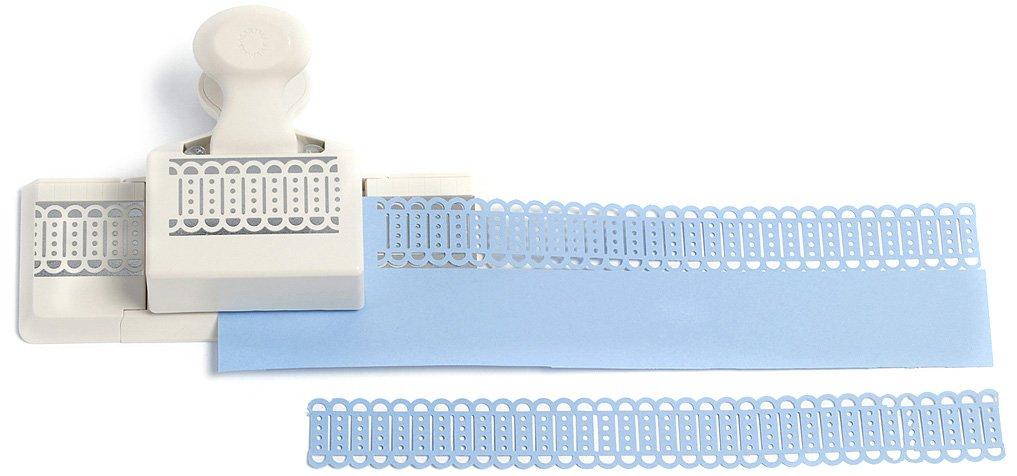 51eGoz59vSL - Martha Stewart Crafts bordo profondo di schede SIM con pugno di carta
