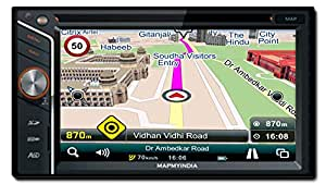 MapmyIndia Icenav 301 Navigation and Entertainment System with MapmyIndia Latest Maps