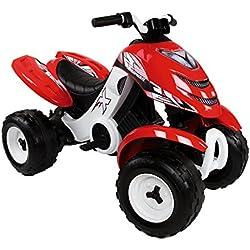 Smoby 033048 Alimentado con batería Motocicleta juguete de montar - Juguetes de montar (6 V, 2 h, 500 mm, 955 mm, 630 mm)