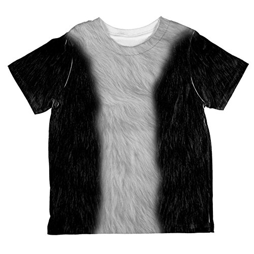 Halloween Tuxedo Black And White Cat Kostüm aller Kleinkind T Shirt Multi 2 t