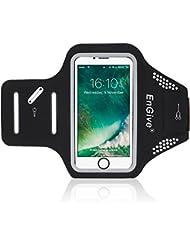 Brassard iPhone 7, EnGive Brassard Sport Armband de Sport Pour iPhone 7, Reconnaissance d'empreintes digitales,brassard avec porte-clés,faire la course, faire du jogging