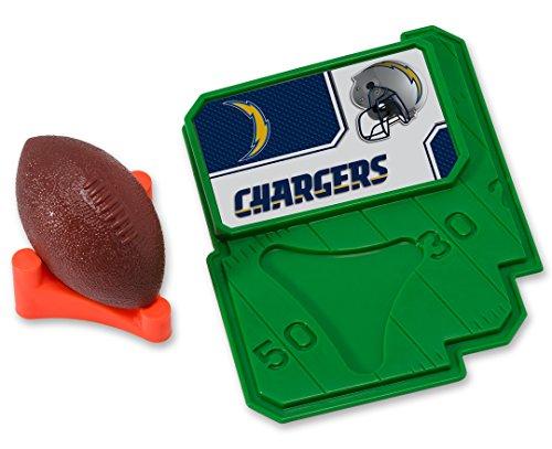 cakemake NFL Football & Tee, Kuchendekoration, San Diego Ladegeräte