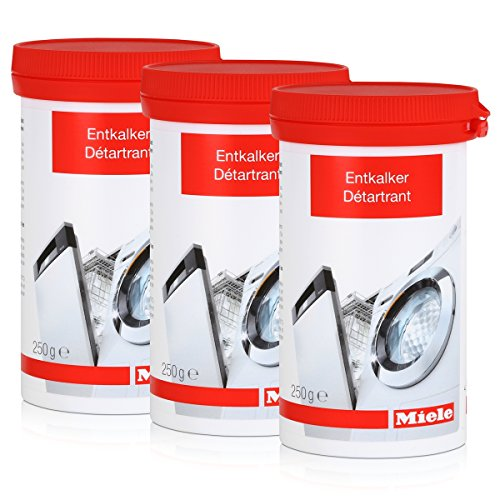 Miele Entkalker für Waschmaschinen und Geschirrspüler 250g (3er Pack)