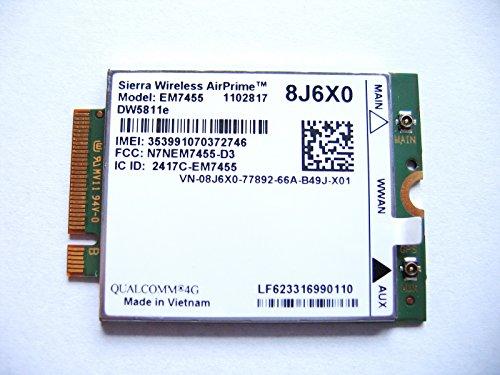 Sierra Airprime EM7455 DW5811E M 2 mobile a banda larga 4 G LTE WWAN Dell  Wireless card