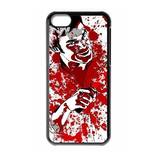 Dexter Blood coque iPhone 5C Housse téléphone Noir de couverture de cas coque EBDXJKNBO09588