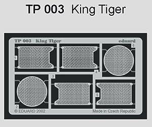 Eduard Accessories TP00330502000fotográfico ätz Juego para King Tiger de Tamiya