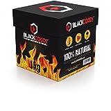 BLACKCOCO's® | 1KG | Premium Kokosnuss Naturkohle für SHISHA & BBQ [Shisha Kohle]