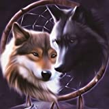 Yunhigh 5d Wolf Diamant Malerei Mosaik diy Kreuzstich-Kit handgefertigte Rhinestone Stickerei Hause Zimmer Dekoration besten Geschenk