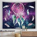 Worsworthy Indisch Psychedelic Wandteppich Mandala Blau Turquoise Tapestry/Elefant Boho Wandtuch Hippie/Mehrfarbige Indischer Wandbehang Tuch Twin Indien Baumwolle Wand tucher
