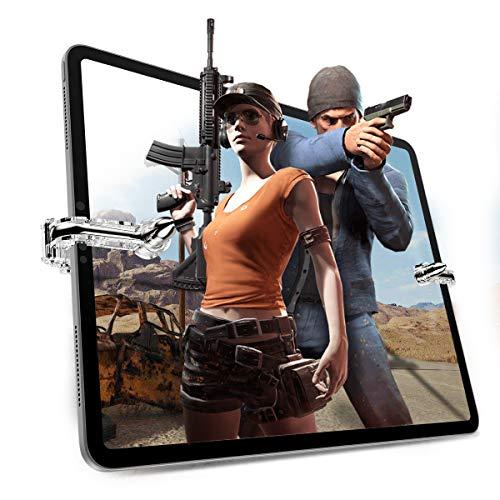 DolDer Mobile Game Controller,Sensitive schießen und zielen Tasten L1R1 Trigger Tasten für PUBG/Messer Out/Regeln des Überlebens, kompatible mit ipad、iPad Mini und andere Tablet EINWEG
