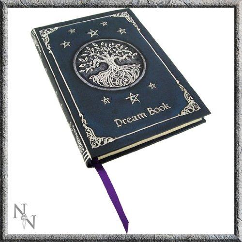 Licensed Blue Tree of Life Dream Book Embossed Journal By Luna Lakota by Nemesis Now Ltd Blue Tree